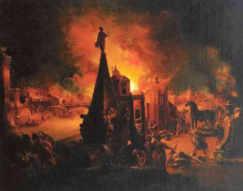 Burning of Troy