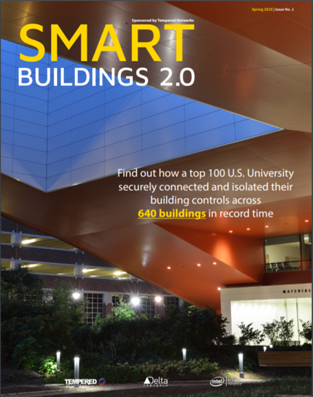 Smart Buildings 2 Cover Spring 2019